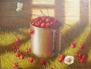 Rosko Натюрморт с вишнями