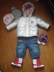 Брендовая куртка Motion Wear для маленькой модници