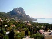 Коттеджный номер в Крыму с видом на море (Новый Свет)