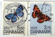 почтовые марки Дании