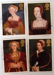почтовые марки Англии