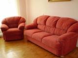 Продам б/у Житомир диван+кресло Днепропетровской ф-ки Прогресс+ ковёр бесплатно