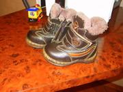 Продам ботиночки зимние 22 р. Состояние идеальное. 100 грн.