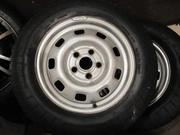 Продам диски (сталь) із б/у шинами