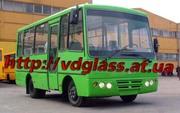Автостекло триплекс,  лобовое стекло для автобусов ХАЗ (Анто-рус)