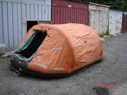 Продам срочно надувной плот-палатку
