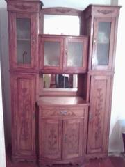 Продам старинные буфет и шкаф с ясена