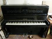Продам Пианино  Украина  черное,  состояние среднее,  нужна настройка,  с