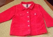 Пиджак для девочки возраст 1, 5-3, 5 года