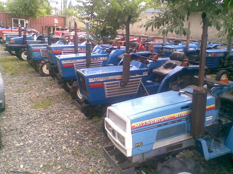 Японские мини трактора бу от «Тотус Авто»