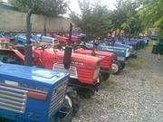 Японские мини тракторы бу, Kubota, Iseki, Yanmar, Mitsubishi, Shibaura, Hinomoto, Suzue.