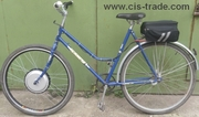 Велосипеды ARDIS и Azimut с электро набором разных мощностей
