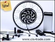 Электро наборы и мотор колеса для велосипедов,  скутеров и автомобилей.