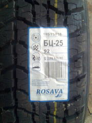 Rosava БЦ-25 (185/75R16 92Q) - 2 шт. - пара новой резины