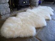 Ковры из овечьих шкур