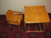 Продам столик-стульчик детский новый