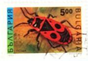 почтовые марки Болгарии - фауна