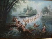 картина Ночь на Ивана Купала