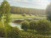 картина Река Гуйва