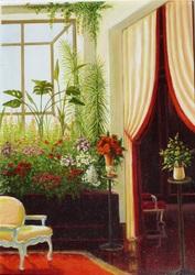 картина Оранжерея