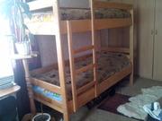 Продам двухъярусную кровать с двумя матрасами