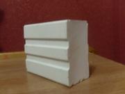 Уралитовая  (ультрафарфоровая) футеровочная плитка для шарових мельниц