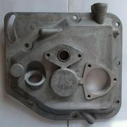 Крышка двигателя боковая короткая