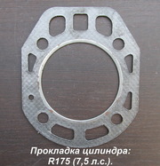 Прокладка цилиндра 75мм,  80мм,  90мм,  95мм (мотоблок,  мотор,  двигатель)