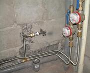 Установка счетчика на воду,  установка счетчика воды Житомир