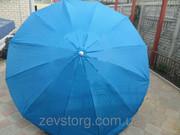Зонт без клапана на 12 спиц