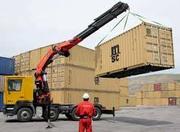 Перевозка контейнеров,   бытовок,  гаражей краном манипулятором