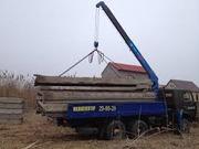 Перевозка строительных материалов с погрузкой-разгрузкой