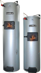 Твердотопливный котел длительного горения CANDLE 18 кВт