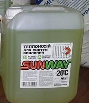 Теплоноситель  для системы отопления SUNWAY -20