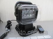 Мощная фара искатель СH-001 LED 50W,  4300 люмен,  радиоуправляемая на м