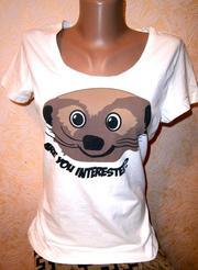 Каттоновая футболка