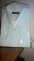 Мужская белая рубашка.