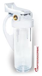 Колба фильтра механической очистки Filter1 FPV-12.  Монтаж,  тех.обслуж