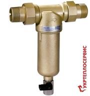 HONEYWELL FF06 3/4AAM- сетчатый фильтр механической очистки. Монтаж,  т