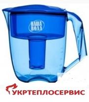 Фильтр-кувшин «Максима» ,  Житомир.  Монтаж,  тех.. обслуж., анализ воды