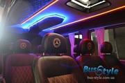 Переоборудование переделка обшивка перетяжка перешивка микроавтобусов буса переобладнання салон в микроавтобус Бердичев
