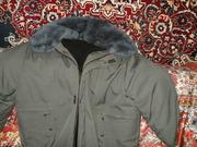 Продам  мужскую  куртку   на  овчине