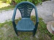 кресло на дачу: мягкое + пластмассовое