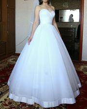 Продам нежное свадебное платье 2017 года