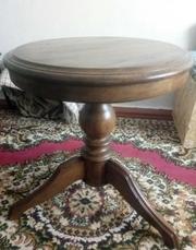 Журнальный столик из натурального дерева дуб