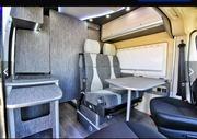 Переоборудование микроавтобуса в пассажирский,  дом на колесах