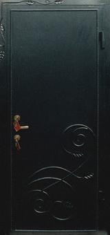 """Металлические двери с элементами ковки - фото галерея -  """"Квант Двери Ворота """" ."""